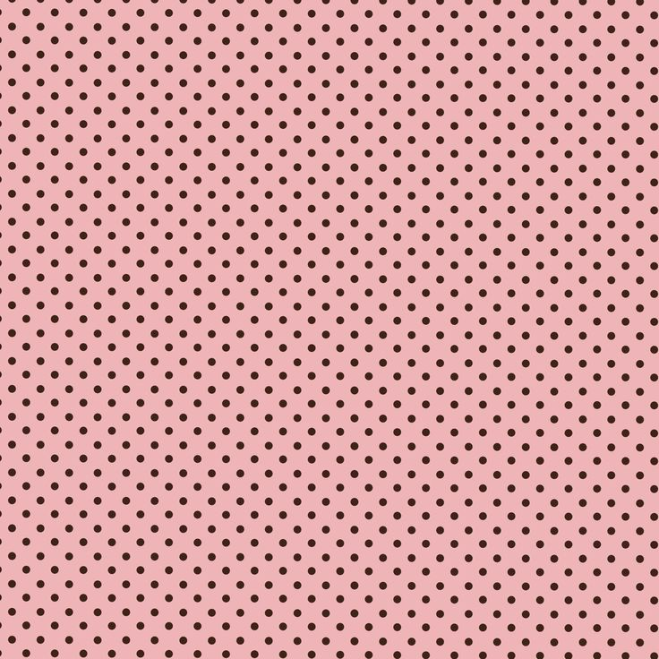 vintage pink pattern polka dots
