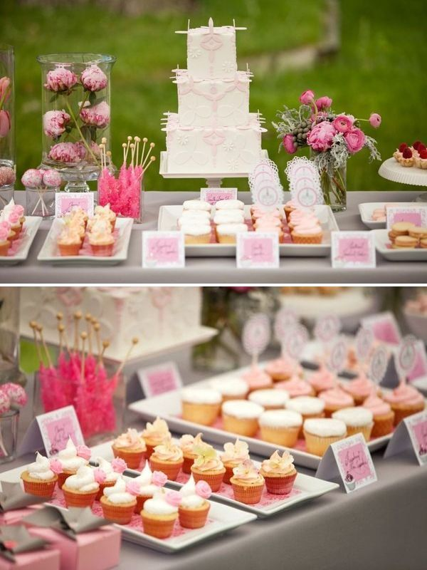 how i want my dessert table..