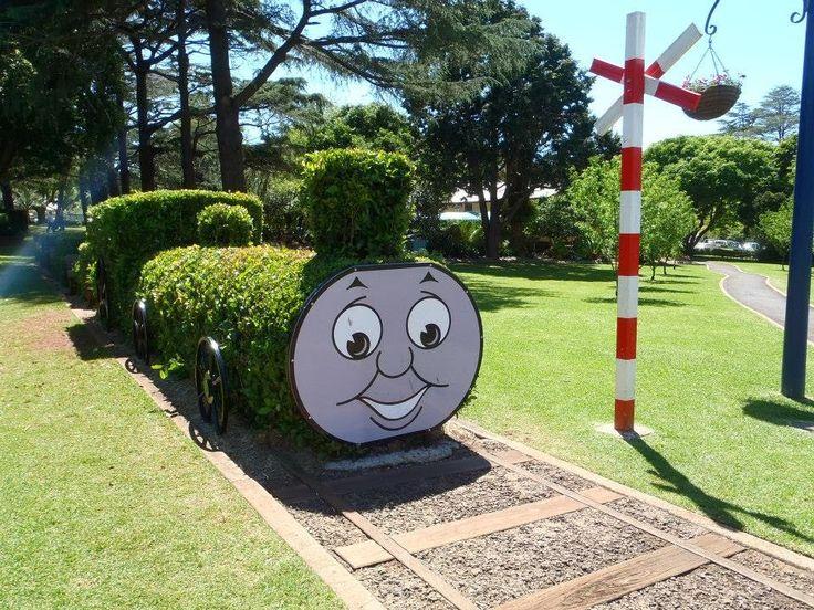 Thomas the tank engine garden display, Laurel Bank Park. Toowoomba, Queensland, Australia. Blog: http://varietyisthebeautyoflife.blogspot.com.au/