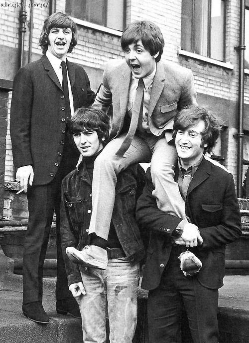 Richard Starkey, Paul McCartney, George Harrison, and John Lennon (1965)