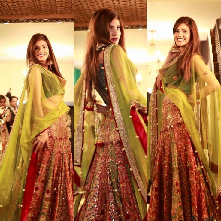 Lehenga #Mehndi #BridalWear #love #colors #Beautiful