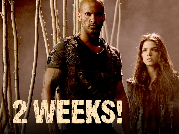 On the ground, it's survival of the fittest. #The100 returns in 2 WEEKS!