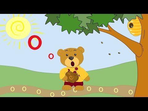 Сказка про букву О-развивающие мультфильмы для самых маленьких-Учим буквы-буква О - YouTube