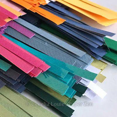 Paper Zen: DIY Cut Your Own Quilling Strips