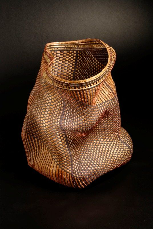 Polly Adams Sutton -- a master at natural basketry
