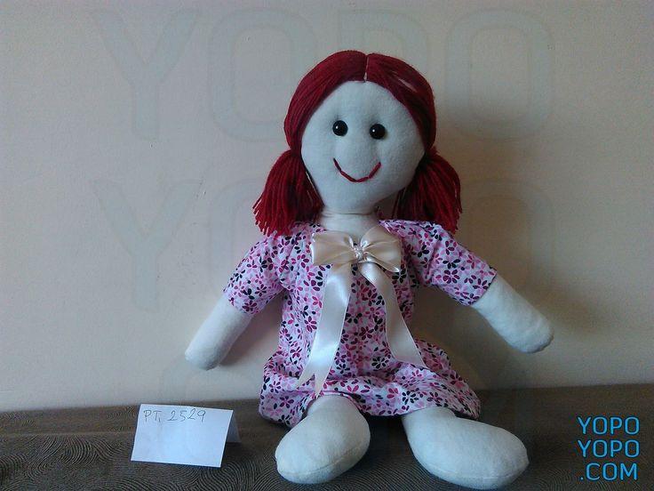 Oyuncak Bebek Kız PT2529Renk: Karma  Kumaş: Karma  İç Dolgu: Elyaf  Ebat: 52 cm  Fiyat: 30 TL  Açıklama: Saçı İp Püsküllüdür.  Kargo: Alıcıya Ait (Firmayı seçebilirsiniz)