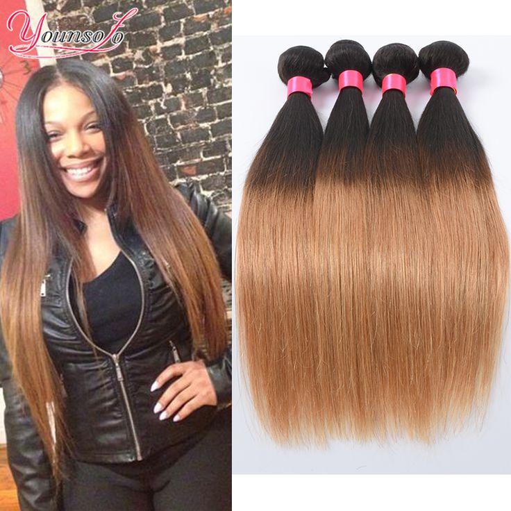 $34.75 (Buy here: https://alitems.com/g/1e8d114494ebda23ff8b16525dc3e8/?i=5&ulp=https%3A%2F%2Fwww.aliexpress.com%2Fitem%2FBrazilian-Virgin-Hair-Ombre-Straight-4-Bundles-Ombre-Weave-Two-Tone-Brazilian-Weave-Hair-Bundles-1B%2F32789928765.html ) Brazilian Virgin Hair Ombre Straight 4 Bundles Ombre Weave Two Tone Brazilian Weave Hair Bundles 1B/27 Ombre Human Hair Weave for just $34.75
