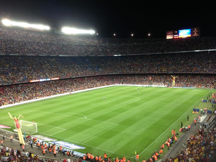 Camp Nou, FC Barcelona - Santos