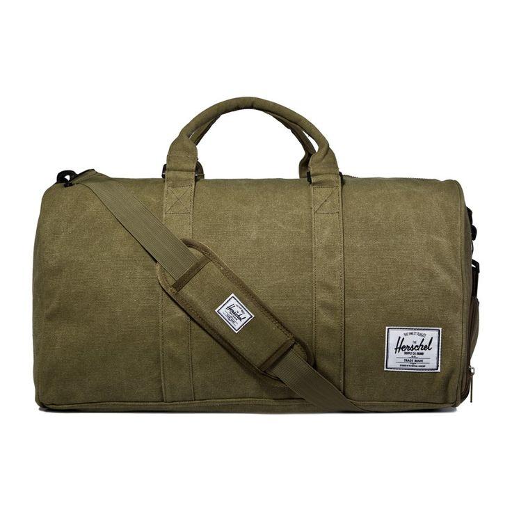 Herschel Supply Co. Army Washed Canvas Novel Duffel Bag £95
