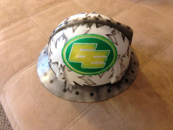 Have a favorite sports team? How about a custom airbrushed hard hat or helmet? Contact me!