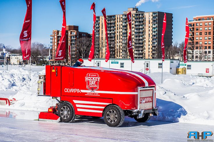 Olympia Ice Resurfacer at the Emera Oval Halifax Commons