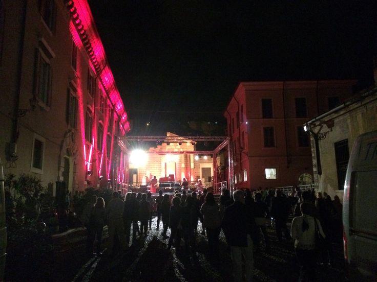 Piazza del foro in concerto