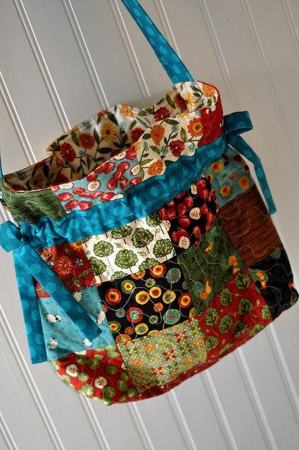 Umhängetasche+Taschen+Patchwork+Bags