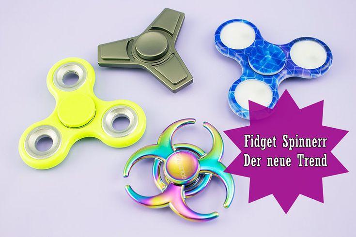"""Fidget Spinner   Der neue Trend - Susi und Kay Projekte Ja, auch wir kommen an dem neuen Trend """"Fidget Spinner"""" nicht vorbei. Sie sind einfach überall – nun auch bei uns! Getestet haben wir vier verschiedene Ausführungen der Spinner, die wir euch im Blogpost auch mit Video vorstellen.  (Der Beitrag könnte rechtlich gesehen Werbung enthalten) #FidgetSpinner #Trend #Neu #Spielzeug #Spinners #Blogger #Test #Produkttest"""
