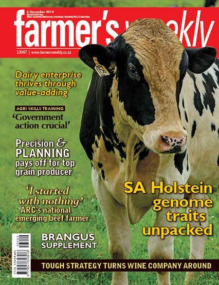 6 December 2013 - 'SA Holstein genome traits unpacked'
