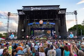 Looking for something awesome to do in Bangor, Maine this summer? Check out a concert at the Darling's Waterfront Pavillion and stay with us at the Crooked Steeple Hall! Photo - Bangor Daily News  #BangorMaine #Vacation   www.crookedsteeplehall.com/concerts-in-maine-this-summer