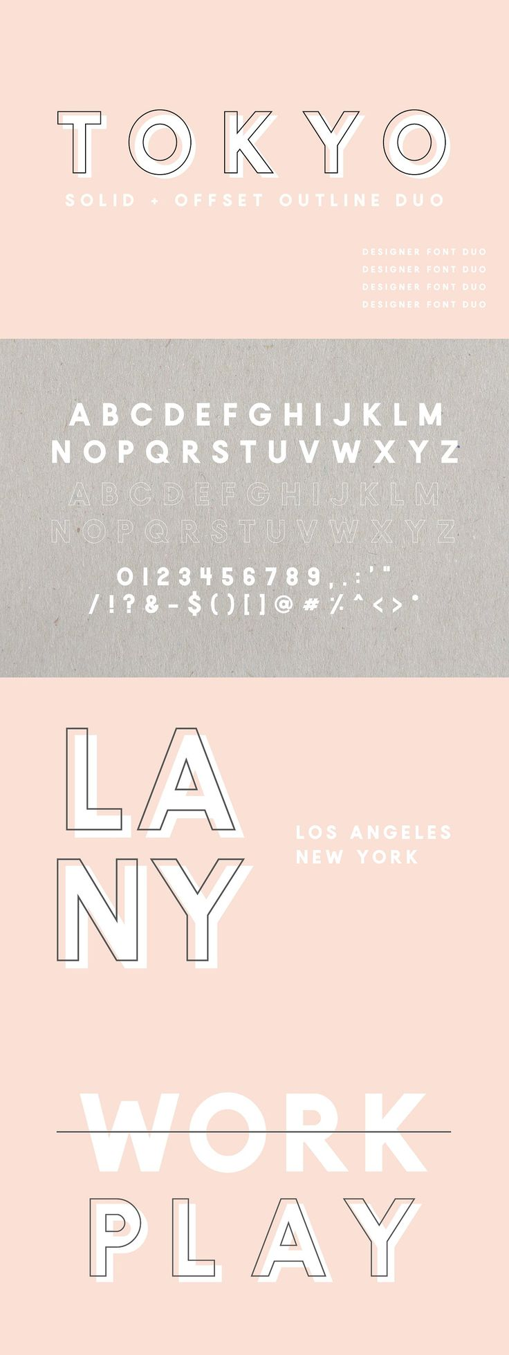17 best images about fonts typography serif font tokyo a designer font duo