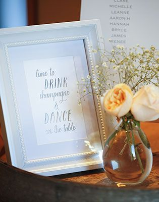 Send a message to your guests. Image: Jessica Jones Photography