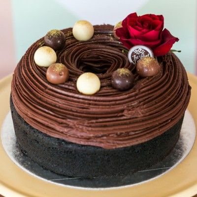 coco chanel chocolate cake   the velvet cake company   cape town   south africa