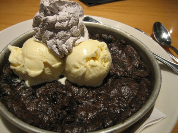 Oreo Pizookie from BJ's Brewhouse.  Soooo good... even worth the diabetic coma you might slip into.