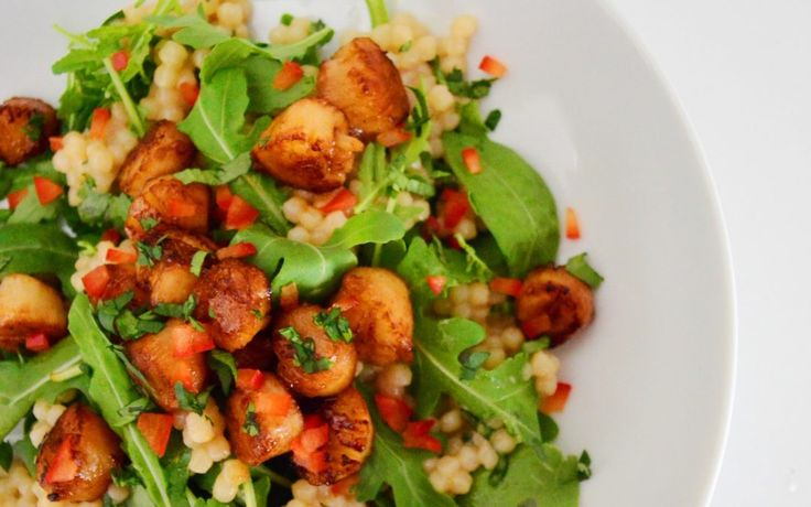 Scallop Salad with Chilli and Mango - Sal's Kitchen for Chilli Pepper Pete