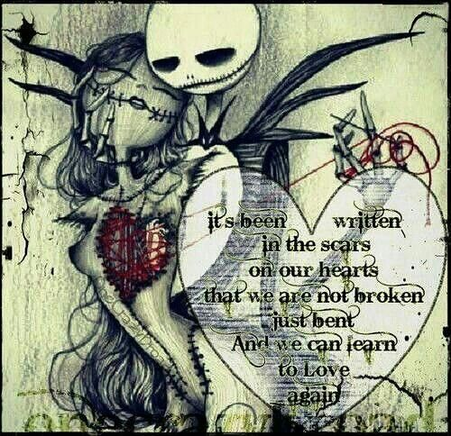 Jack the skeleton love romantic