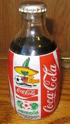 Coca-cola conmemorativa México '86