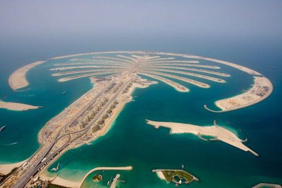 palmowe wyspy Dubaju