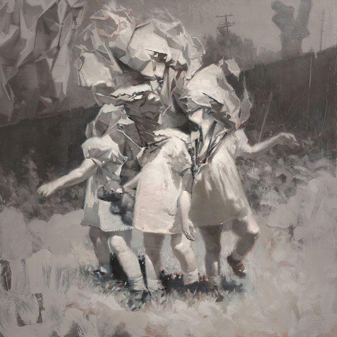 Alex Beck -Cerberus – 24 x 24 inches, oil on canvas.