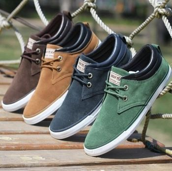 New 2014 Top Fashion brand men Sneakers Canvas men's flats shoes men,Daily casual shoes Spring Autumn sneakers men shoes LS083 #casualsneakers #MensFashionSneakers