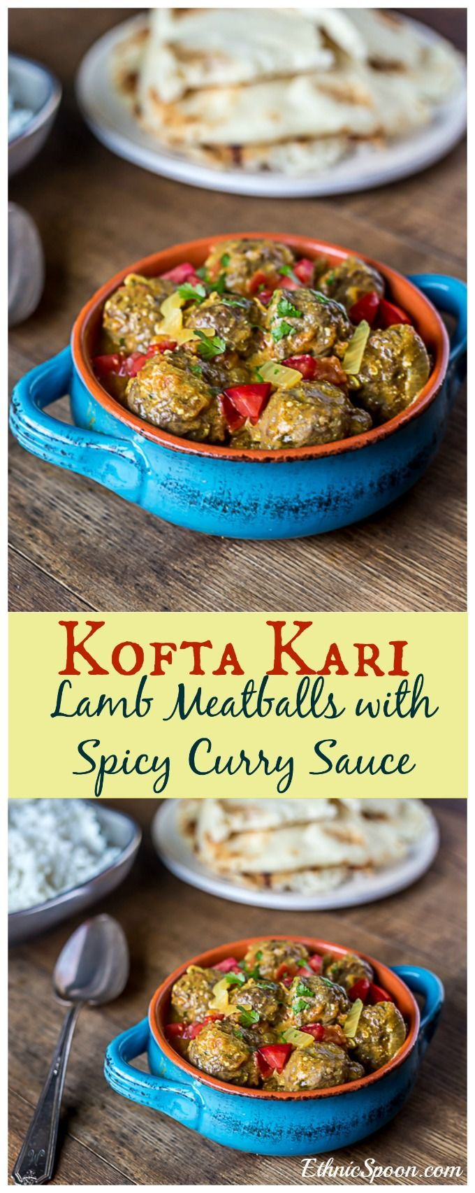 Kofta kari recipe curries lamb meatballs and spicy forumfinder Gallery