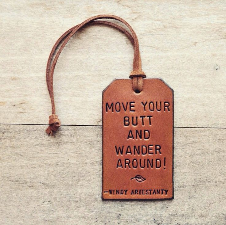 Luggage Tag Goals