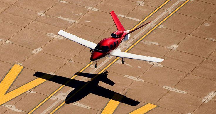 Cirrus Vision SF50, le jet papillon                                                                                                                                                                                 Plus