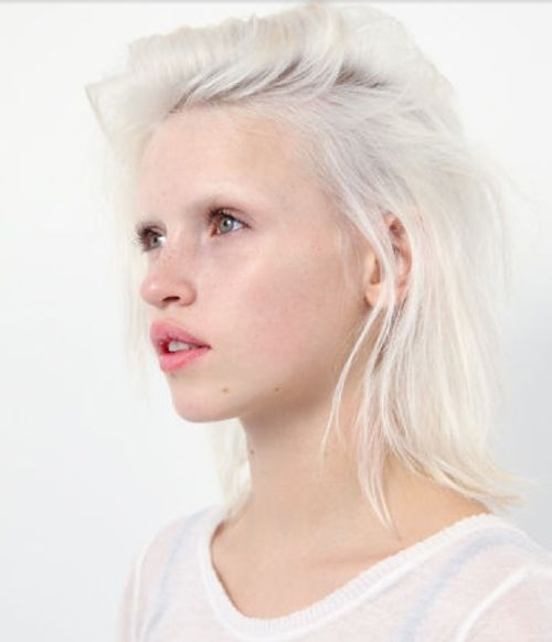Anja konstantinova. I'm bleaching my eyebrows someday