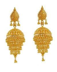 jhumka designs in gold - Google Search