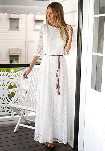 Vestido blanco ch powell