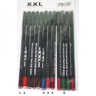 Orice femeie trebuie sa stie sa isi intretina machiajul cu ajutorul unor mici trucuri.  Acest creion pentru ochi si buze este unul de calitate, usor de utilizat si aplicat - potrivit momentelor intense.  Ai grija ca buzele tale sa fie perfect conturate, iar pivirea seducatoare cu ajutorul acestui creion dermatograf XXL: http://www.trendis.ro/creion-machiaj-colorat-xxl-cmc010.html
