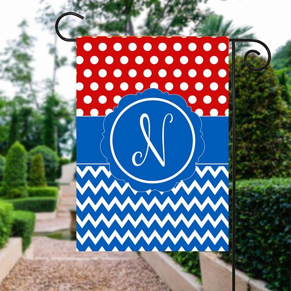 Memorial Day Flag | Red White and Blue Flag | th of July Flag | Patriotic Flag | Personalized Flag | Garden Flags | Patriotic Decor  #RedWhiteAndBlue #PatrioticFlag #GardenFlag #4thOfJulyFlag #GardenGift #YardSign #PersonalizedFlag #FourthOfJuly #GardenSign #GardenFlags
