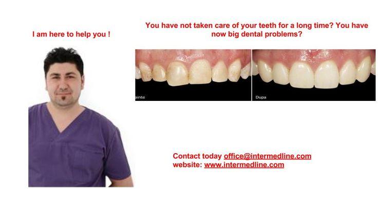 Hai bisogno di faccette dentali in Romania? Si desidera avere denti belli? Vi invitiamo a vedere qui e contattaci subito! http://www.intermedline.com/dental-clinics-romania/ #clinicadentale #clinicaodontoiatrica #clinicaodontoiatricainRomania #faccettedentali #faccettedentaliinRomania #faccetteinporcellana #faccetteinporcellanainRomania #turismodentale #turismodentaleinRomania #dentista #dentistainRomania #dentisti #dentistiinRomania