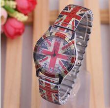 Reloj UK, la bandera de moda