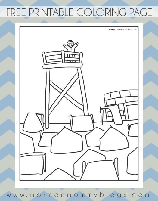 Mormon Mommy Printables King Benjamin Free LDS Coloring Pages