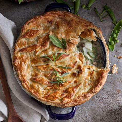Spring Vegetable Pot Pie | Williams Sonoma