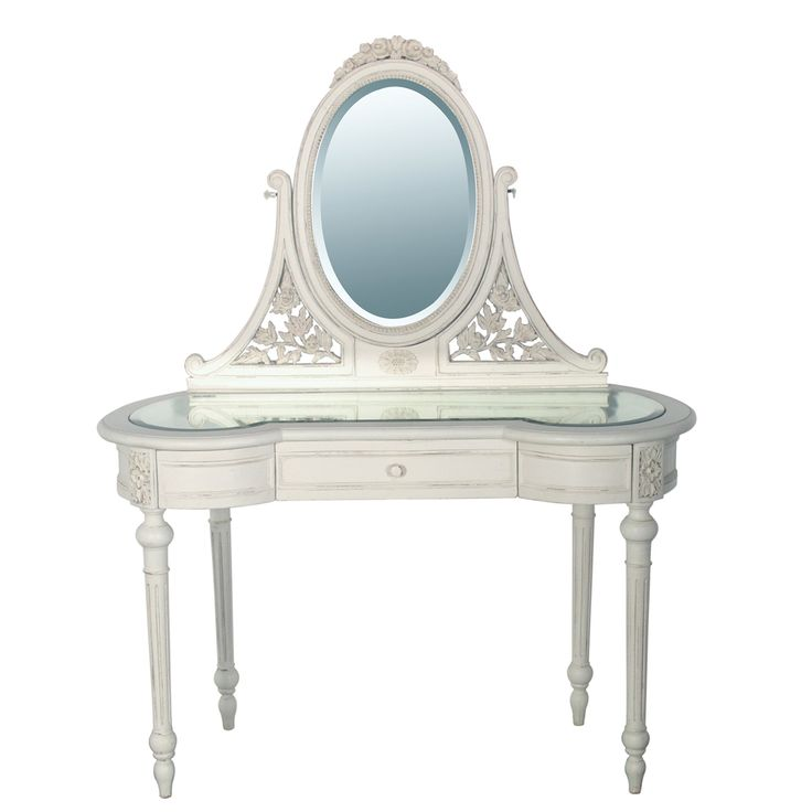 Provencal White Dressing Table|Dressing Tables|Tables|French Bedroom Company