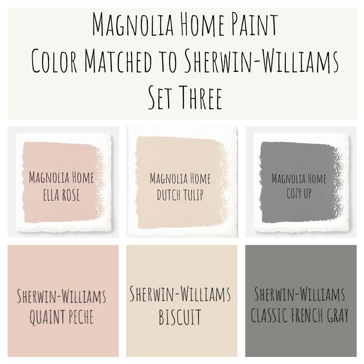 Joanna Gaines Magnolia Home Paint Color Matched To Sherwin Williams Perfect Modern Farmhouse Colors
