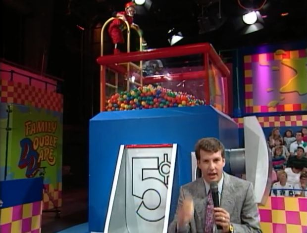 No Small Splatter: The 10 Slimiest Stunts of 'Double Dare' | Mental Floss