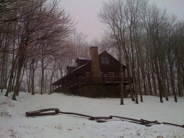 9 best angel 39 s peak winter images on pinterest angel s for Winter cabin rentals north carolina