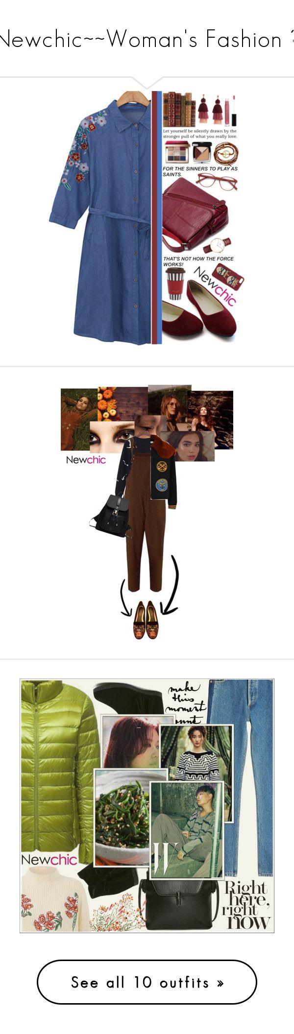 """Newchic~~Woman's Fashion ♥"" by av-anul ❤ liked on Polyvore featuring EyeBuyDirect.com, Bobbi Brown Cosmetics, Chanel, Daniel Wellington, Ettika, Anastasia Beverly Hills, Henri Bendel, Dolce&Gabbana, Balmain and Coach"