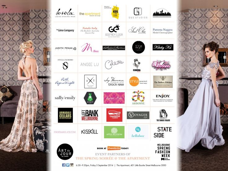 2014 MSFW Curated Program – ART du JOUR by Leiela, THE SPRING SOIRÉE featuring Judith Penak Couture Gown, headpiece by Vintage Designs and jewellery Stella Nemiro Sponsor Banner