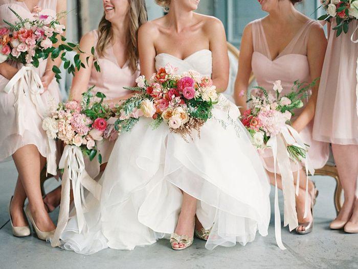 Pink magenta wedding ainsley brdiesmaids dress in for Magenta dress for wedding