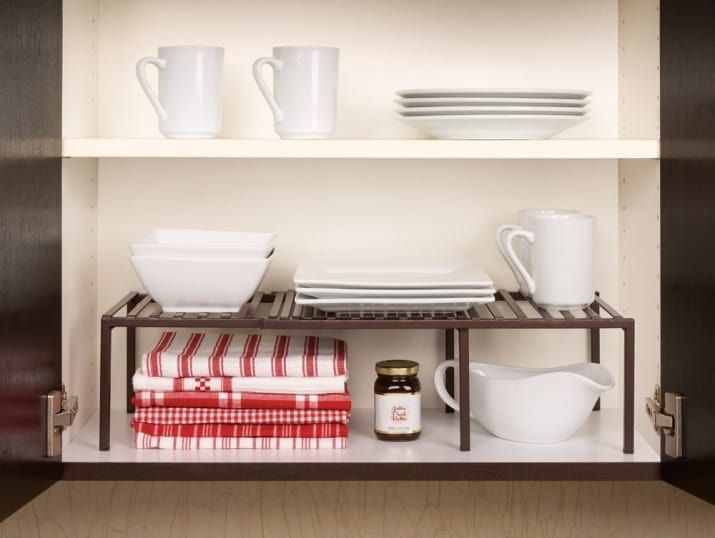 28 Kitchen Products Any Super Organized Person Needs Asap Kitchen Organization Kitchen Cabinet Shelves Small Kitchen Organization